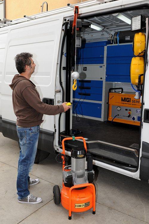 A brescia gru per furgoni for Catalogo bricoman rezzato brescia